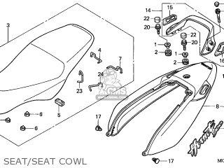 Honda CB900F HORNET 2004 (4) FRANCE parts lists and schematics