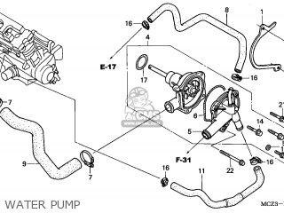 Honda CB900F HORNET 2005 (5) FRANCE parts lists and schematics