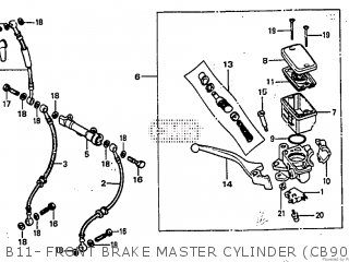 Honda CB900F TYPE2 1982 (C) parts lists and schematics