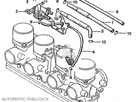 Honda CB900F2B BOL D'OR parts lists and schematics