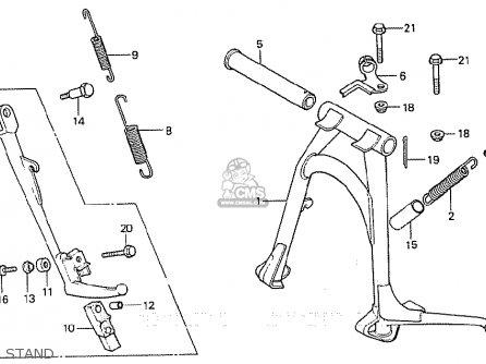 Honda Cb900f2b Bol D'or parts list partsmanual partsfiche