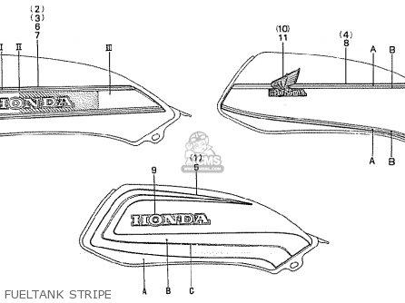 Honda CB900F2C BOL D'OR parts lists and schematics