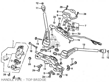 Honda Cb900fb Bol D'or parts list partsmanual partsfiche