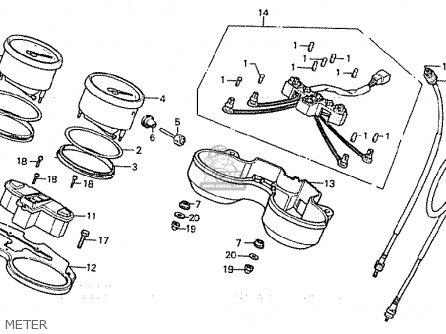 Honda CB900FC BOL D'OR parts lists and schematics