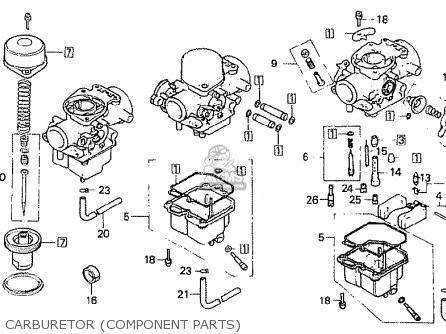 Honda Cb900fz Bol D'or parts list partsmanual partsfiche
