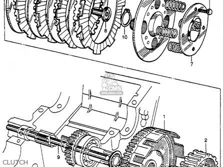 Honda Cb92 Benly Super Sport 125 1959 Usa parts list