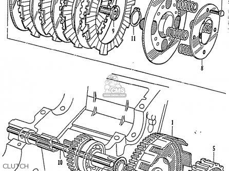 Honda Cb92 Benly Super Sport 125 General Export Parts