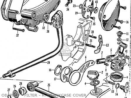 Honda Cb92 Benly Super Sport 125 (general Export) parts