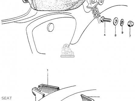 Honda Cb92 Benly Super Sport 1959 Usa parts list