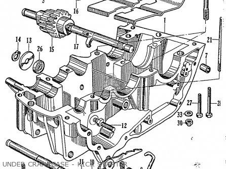 Honda Cb92 Benly Super Sport General Export parts list