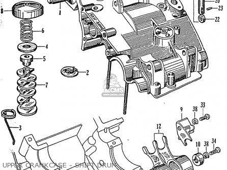 Honda CB92 BENLY SUPER SPORT GENERAL EXPORT parts lists