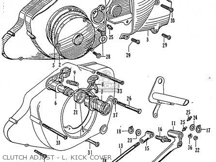 Honda Cb95 Benly Super Sport General Export parts list