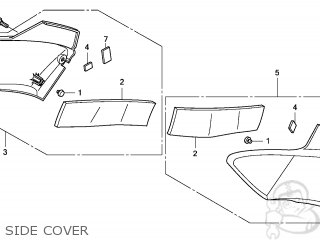 Honda CBF1000 2006 (6) EUROPEAN DIRECT SALES parts lists