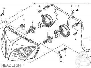 Honda CBF1000 2006 (6) FRANCE / CMF parts lists and schematics