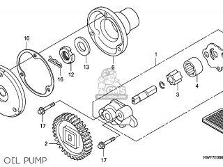 Honda CBF125M 2011 (B) ENGLAND parts lists and schematics