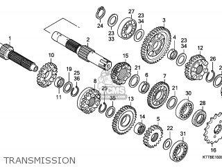 Honda CBF150SH 2007 (7) MOROCCO parts lists and schematics