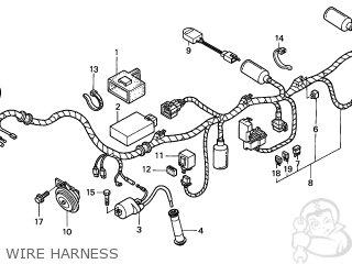 Honda CBF250 2006 (6) AUSTRALIA parts lists and schematics