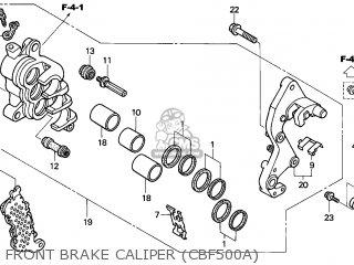 Honda CBF500A 2006 (6) ENGLAND / ABS parts lists and