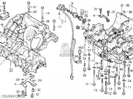 Honda Cbr1000f 1000 Hurricane 1988 Usa parts list