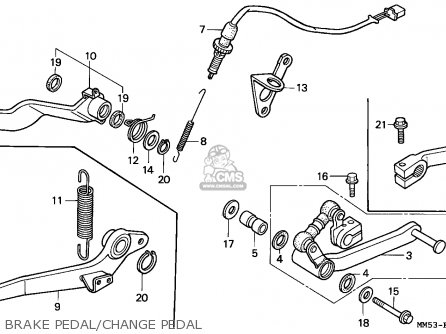Honda CBR1000F 1989 (K) EUROPEAN DIRECT SALES / DB parts