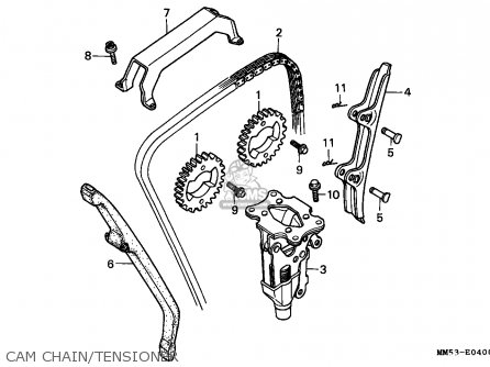 Honda Cbr1000f 1989 (k) Switzerland parts list partsmanual