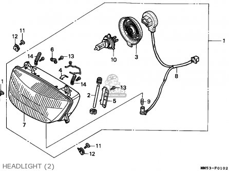 Honda Cbr Engine Wiring Diagram CBR 250 Wiring Diagram