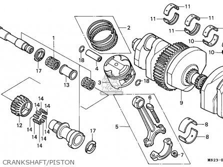 Honda CBR1000F 1990 (L) DENMARK parts lists and schematics