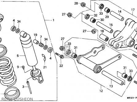 Honda CBR1000F 1990 (L) FINLAND parts lists and schematics