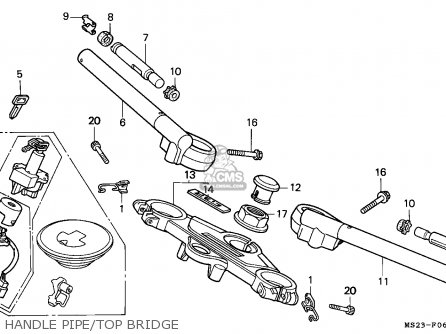 Honda CBR1000F 1990 (L) FRANCE / YB parts lists and schematics