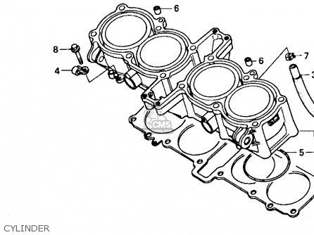 Honda Cbr1000f 1990 (l) Usa California parts list