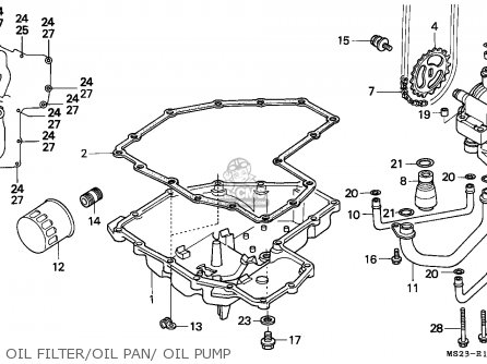 Honda CBR1000F 1991 (M) FINLAND parts lists and schematics