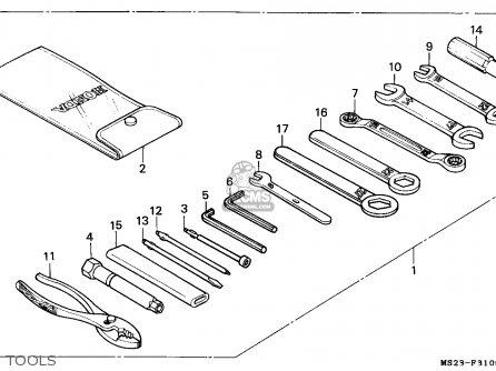 Honda Cbr1000f 1992 (n) Denmark parts list partsmanual