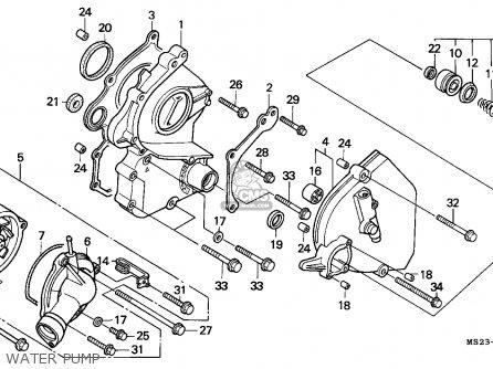 Honda Cbr1000f 1992 (n) France / Yb parts list partsmanual