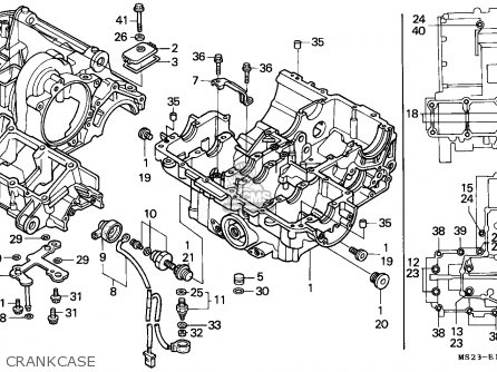 Honda CBR1000F 1992 (N) GERMANY parts lists and schematics