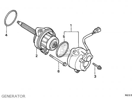 Honda CBR1000F 1993 (P) EUROPEAN DIRECT SALES parts lists