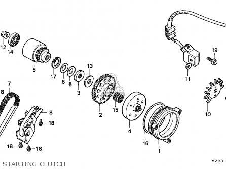 Honda CBR1000F 1994 (R) EUROPEAN DIRECT SALES parts lists