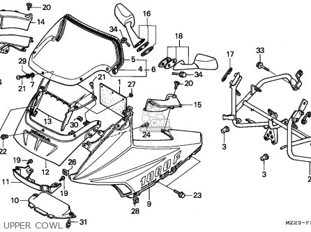 Honda Goldwing Gl1000 Wiring Diagram Honda Goldwing