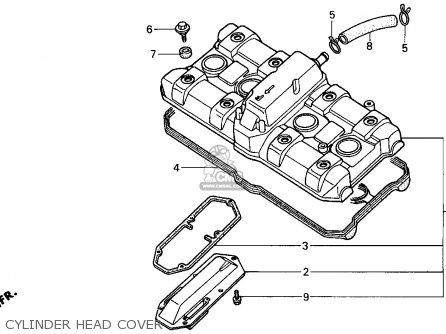 Honda Cbr1000f 1996 (t) Usa California parts list