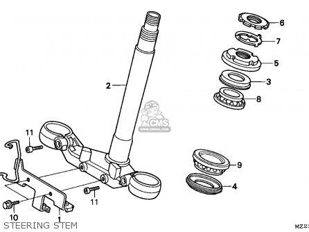 Honda CBR1000F 1997 (V) EUROPEAN DIRECT SALES parts lists