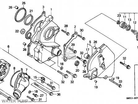 Honda CBR1000F HURRICANE1000 1988 (J) AUSTRIA parts lists