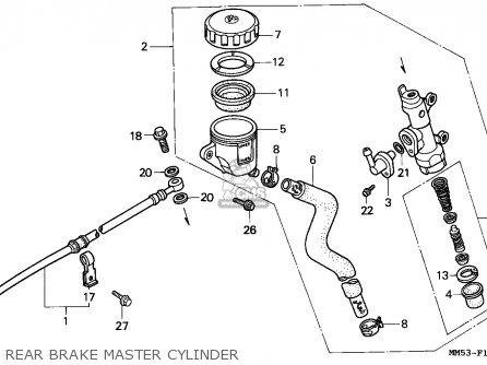 Honda CBR1000F HURRICANE1000 1988 (J) CANADA parts lists