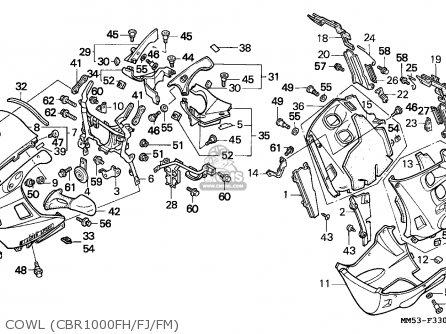 Honda CBR1000F HURRICANE1000 1988 (J) EUROPEAN DIRECT