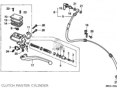 Honda CBR1000F HURRICANE1000 1988 (J) FINLAND parts lists