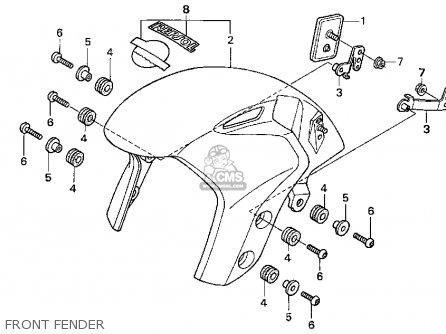 Honda CBR1000RR 2004 (4) CALIFORNIA parts lists and schematics