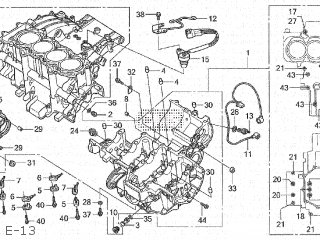Honda CBR1000RR 2004 (4) JAPAN SC57-100 parts lists and