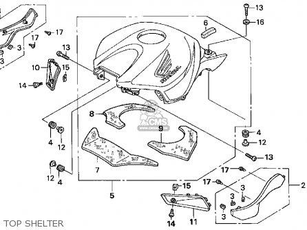 Honda CBR1000RR 2004 (4) USA parts lists and schematics