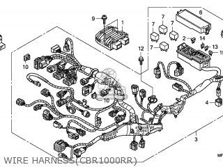 Honda CBR1000RR 2008 (8) AUSTRALIA parts lists and schematics