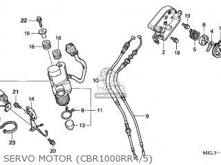 Honda CBR1000RR FIREBLADE 2004 (4) ENGLAND / KMH parts