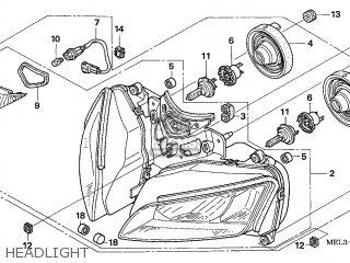 Honda CBR1000RR FIREBLADE 2004 (4) GERMANY / KPH parts