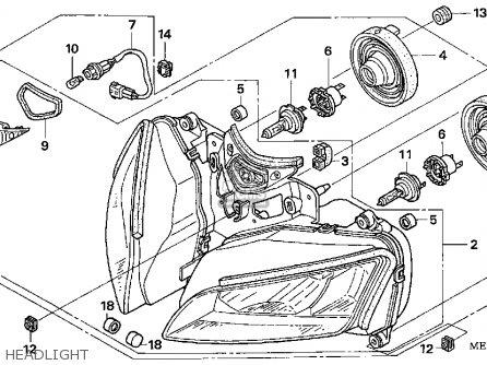 Honda CBR1000RR REPSOL 2005 (5) USA parts lists and schematics